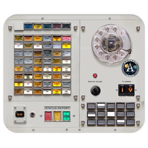 Apollo Mission Control Console Mousepad MOCR 2/4