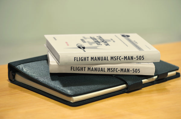 Apollo Saturn V Flight Manual lined journal