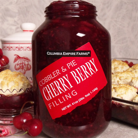 41oz Cherry Berry Cobbler & Pie Filling