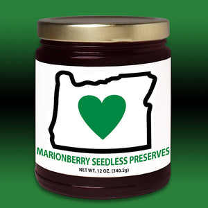 HIO Marionberry Seedless Preserves 12oz