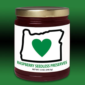 HIO Red Raspberry Seedless Preserves 12oz