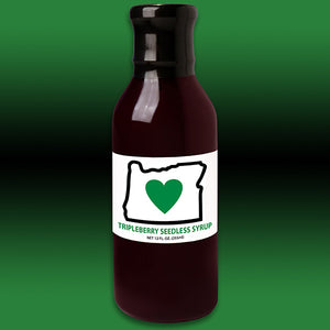 HIO Triple Berry Seedless Syrup 12oz