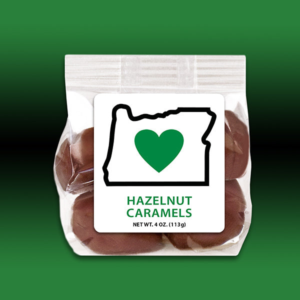 HIO Chocolate Hazelnut Caramels 4oz