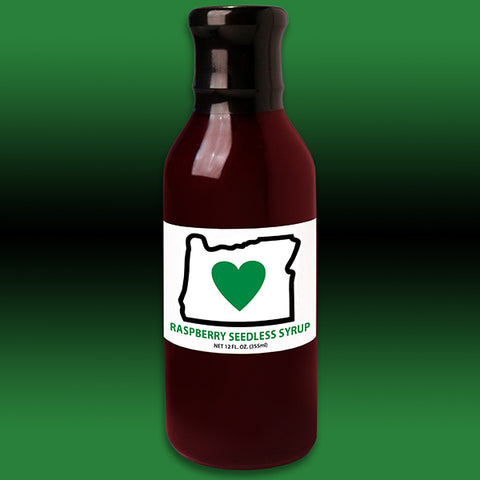 HIO Raspberry Seedless Syrup 12oz