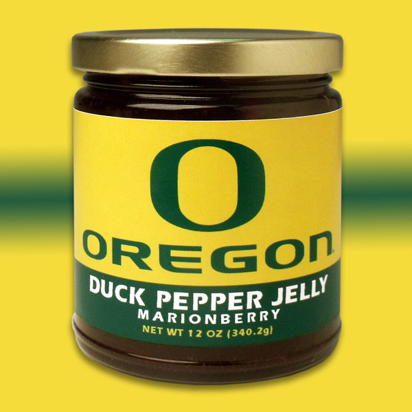 UO Duck Pepper Jelly - Marionberry 12oz