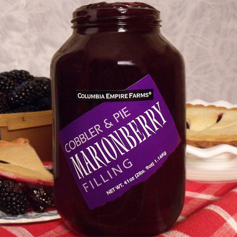 41oz Marionberry Cobbler & Pie Filling