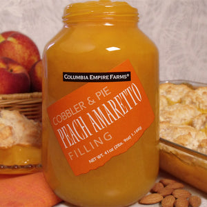 41oz Peach Amaretto Cobbler & Pie Filling