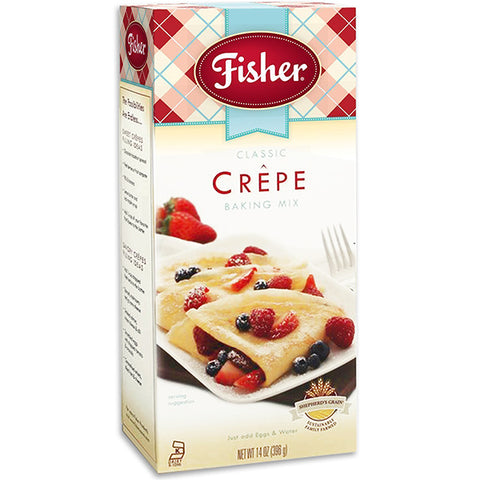 Fisher Classic Crepe Mix