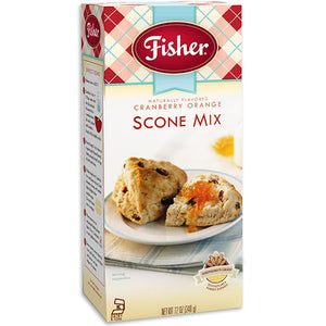 Fisher Cranberry Orange Scone Mix