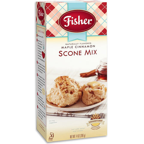Fisher Maple Cinnamon Scone Mix