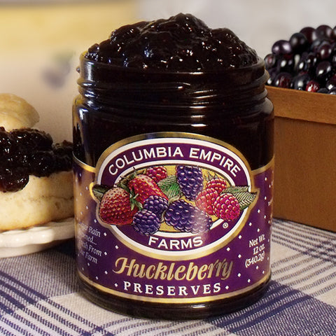 12oz Huckleberry Preserves