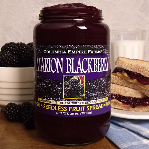 28oz Marion Blackberry Spread Less Sugar