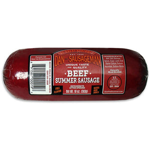 Dan the Sausageman Beef Summer Sausage 10oz.