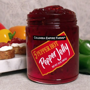 5 Pepper Hot Pepper Jelly, 12oz