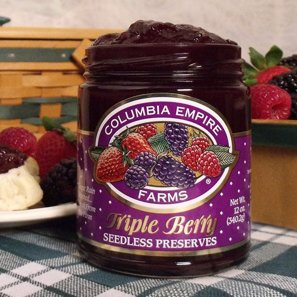 12oz Tripleberry Preserves