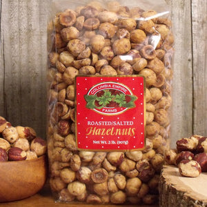 2lb Roasted Salted Hazelnuts