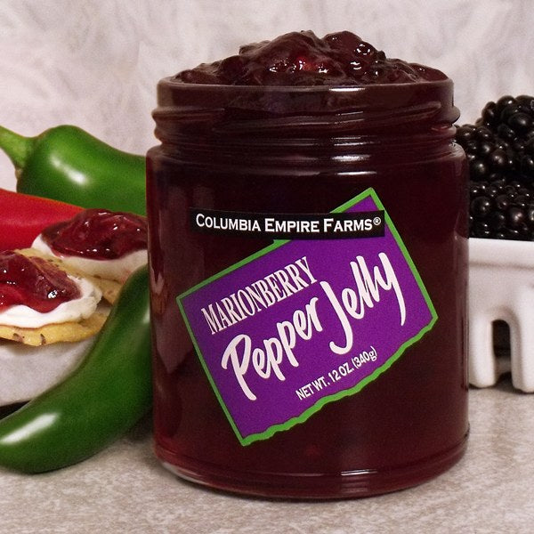 Marionberry Pepper Jelly, 12oz
