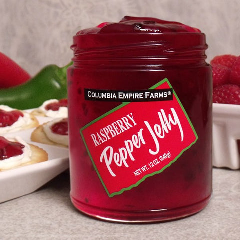 Raspberry Pepper Jelly, 12oz