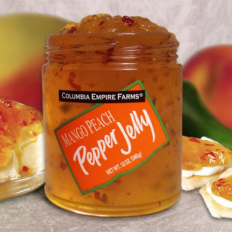 Mango Peach Pepper Jelly, 12oz