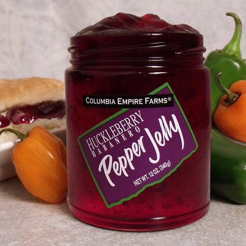 Huckleberry Habanero Pepper Jelly, 12oz