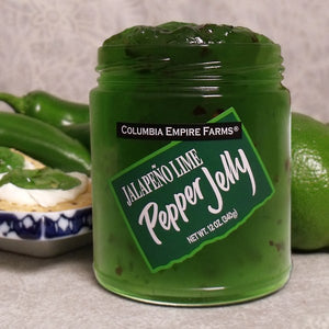 Jalapeno Lime Pepper Jelly, 12oz