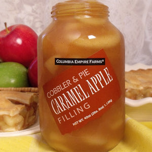 40oz Caramel Apple Cobbler & Pie Filling