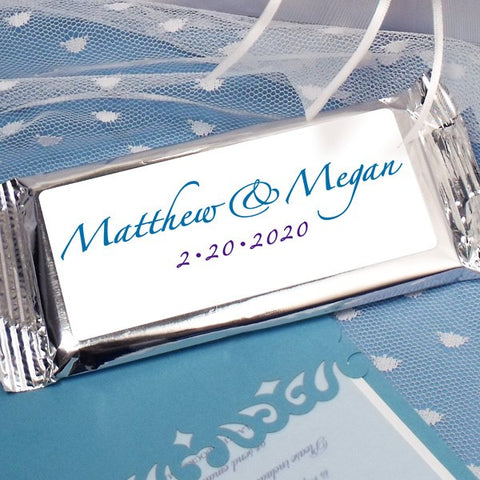 Matthew & Megan Milk Chocolate Bar