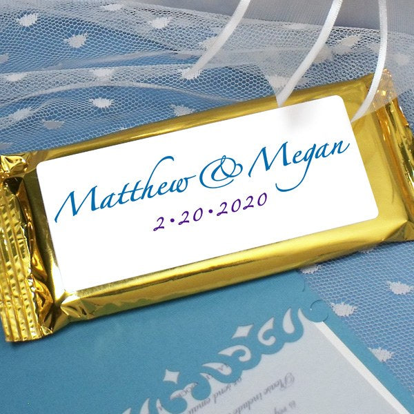 Matthew & Megan Dark Chocolate Bar