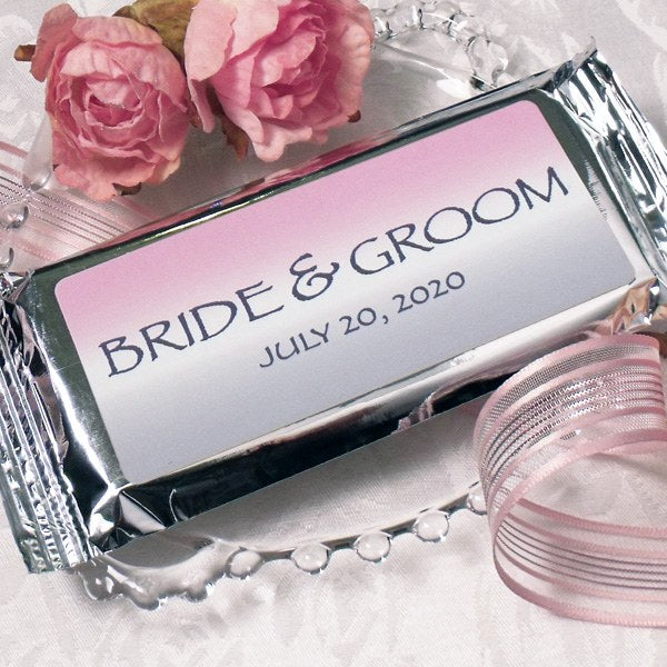 Bride & Groom Milk Chocolate Bar
