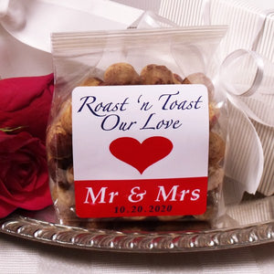 Mr & Mrs 4oz R/S Hazelnuts