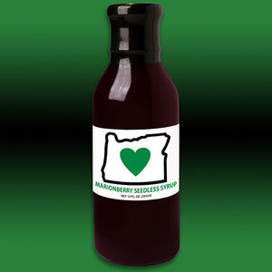 HIO Marionberry Seedless Syrup 12oz