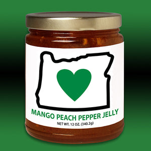HIO Mango Peach Pepper Jelly