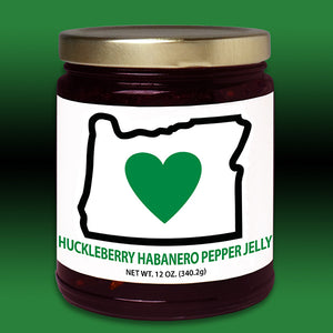 HIO Huckleberry Pepper Jelly