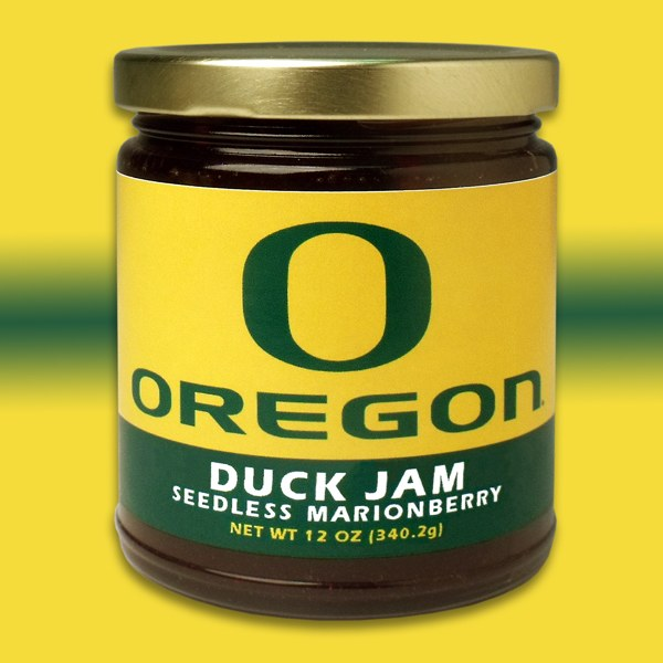 UO Duck Jam - Marionberry 12oz