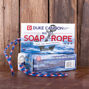 Duke Cannon's Big Ass Soap on a Rope -- Naval Supremacy