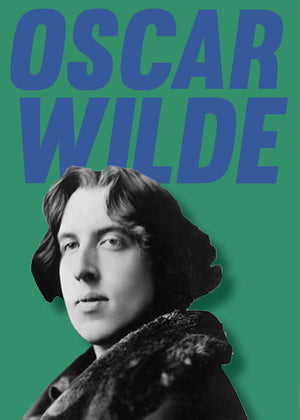 Library Tin Candle ~ Oscar Wilde