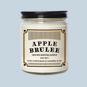 Lucky Mfg. Apothecary Apple Brulee Candle