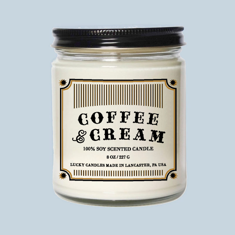 Lucky Mfg. Apothecary Coffee & Cream Candle
