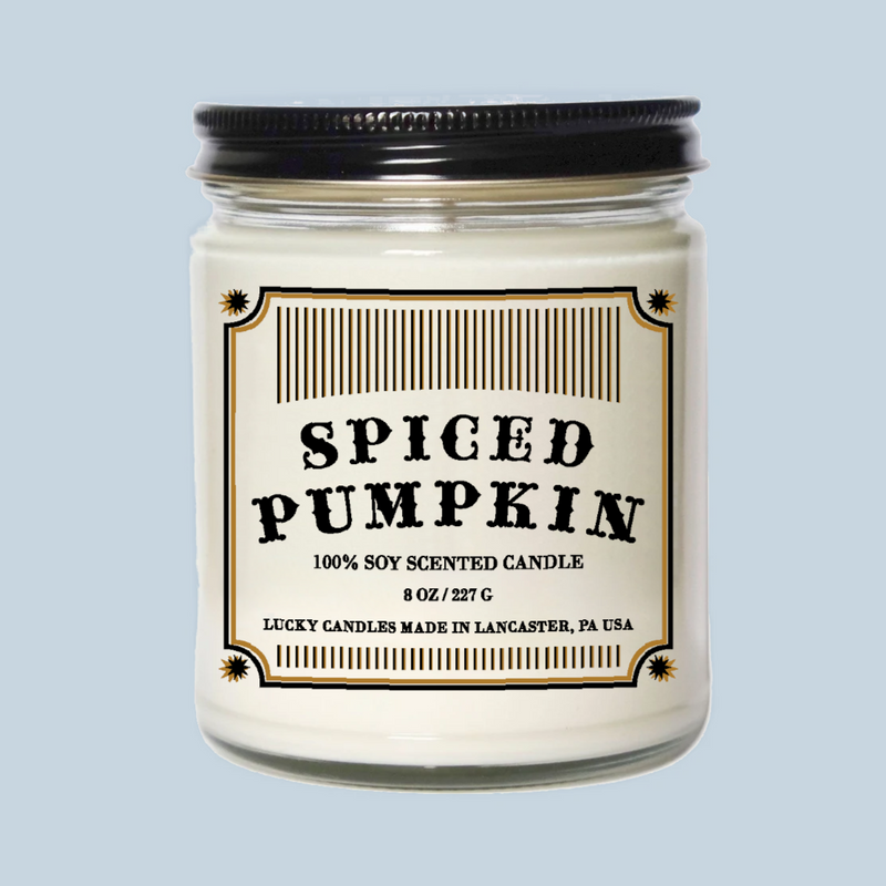 Lucky Mfg. Apothecary Spiced Pumpkin Candle