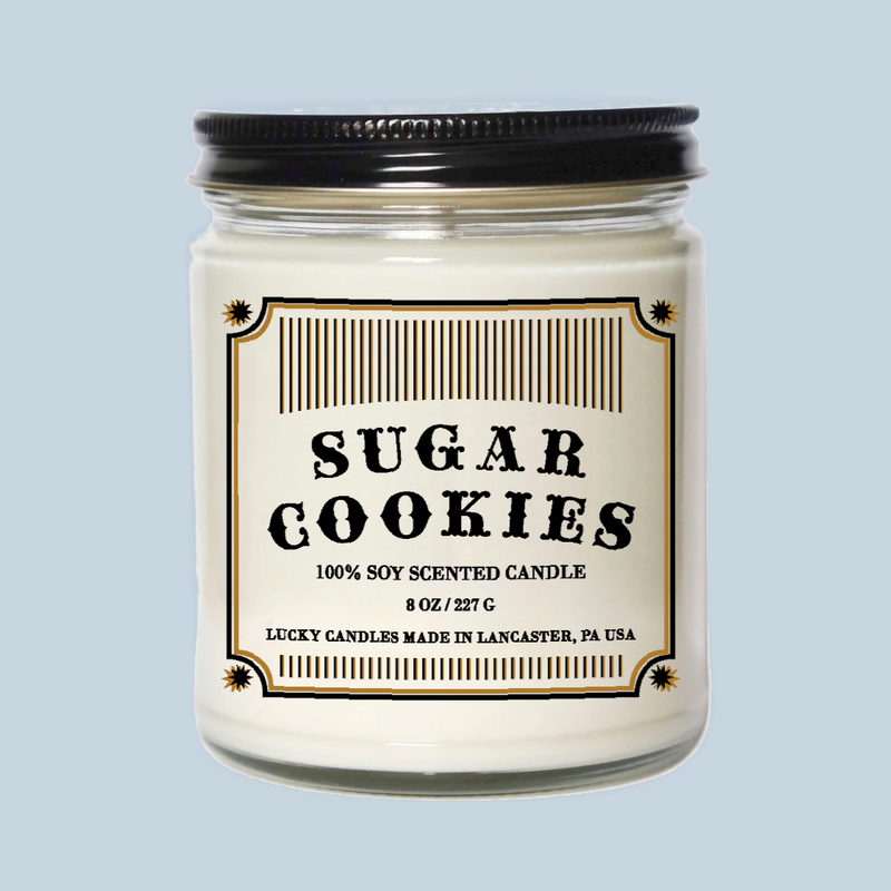 Lucky Mfg. Apothecary Sugar Cookies Candle