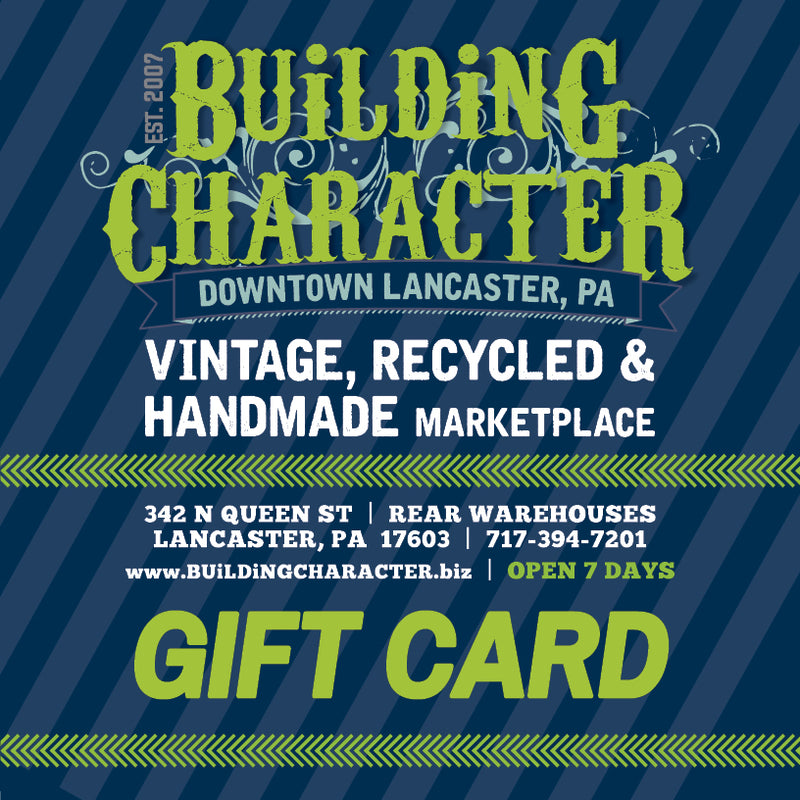 Building Character Gift Card