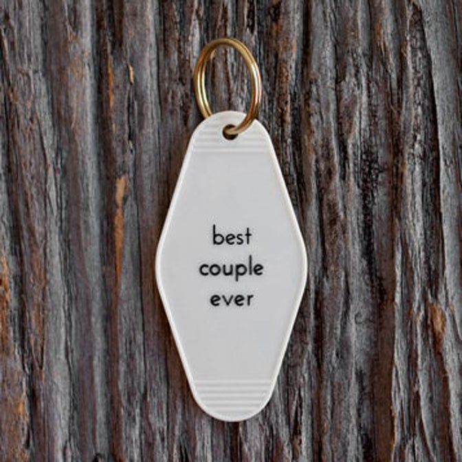 Best Couple Ever Tag Keychain