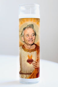 Bill Murray Idol Candle