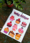 Cupcakes Sticker Pack