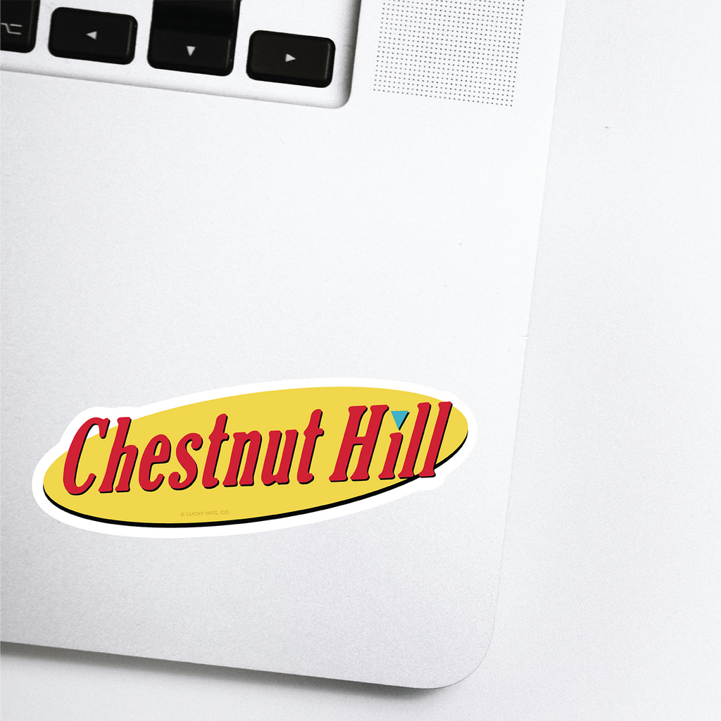 Chestnut Hill Lancaster Pennsylvania Neighborhood - 80s TV Sticker