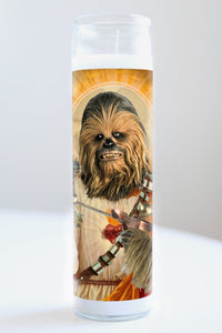 Chewbacca Idol Candle