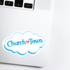 Churchtown Lancaster Pennsylvania Neighborhood - 80s TV Sticker