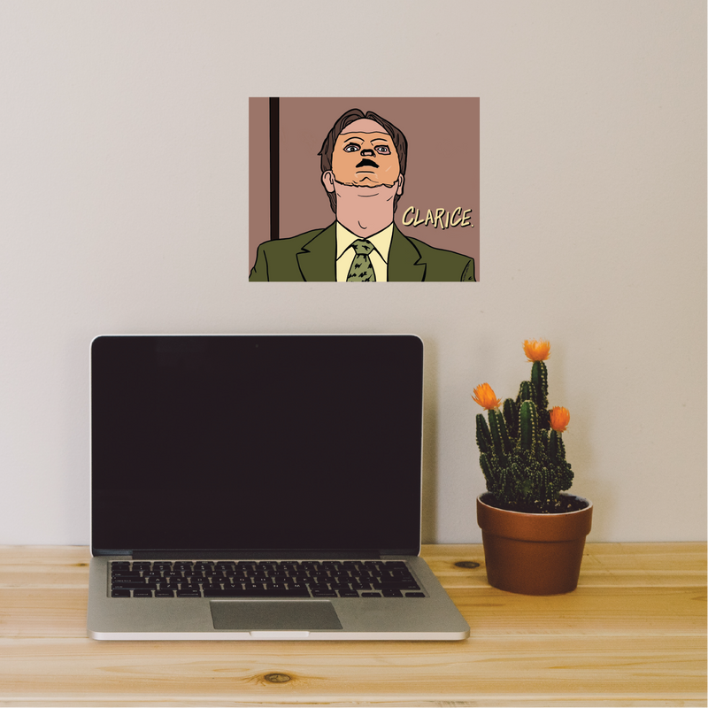 The Office Print Dwight Schrute - 8x10