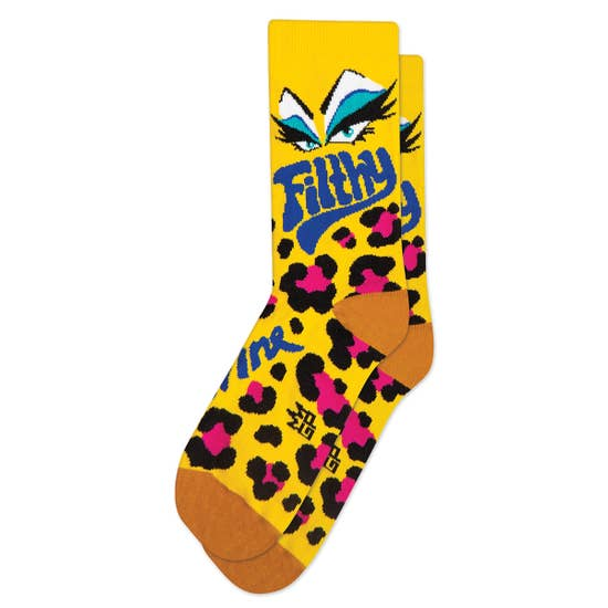 Divine Filthy Crew Dress Socks by Gumball Poodle