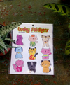Furry Friends 2 - Dog and Cat Sticker Pack